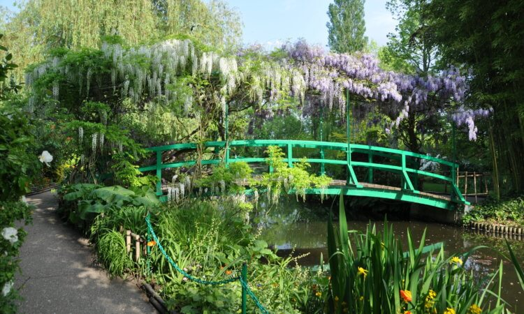 Giverny Le pont de Monet